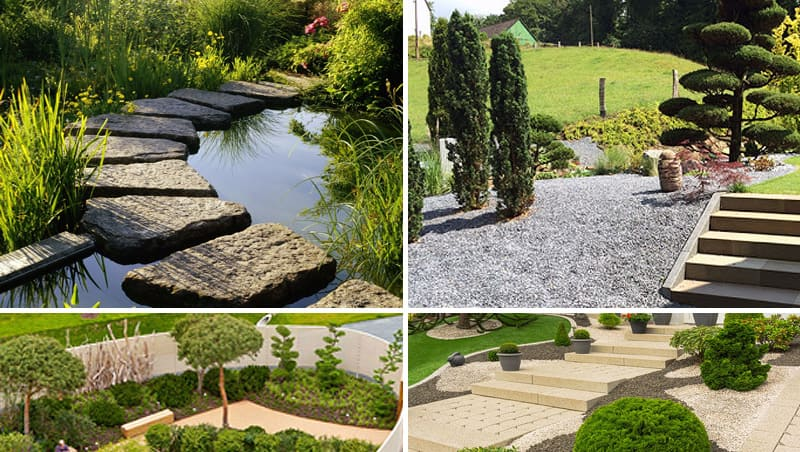 Redesign of gardens. Creation of garden ponds. Design of terraces.