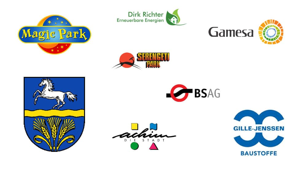 Customer logos from Karlsen.
