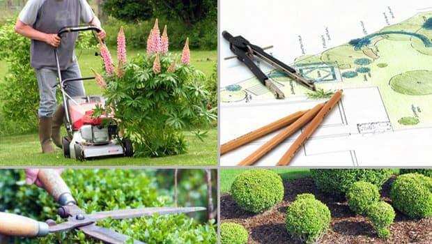 Galabau-Dienstleistungen - Gartenpflege, Rasenmähen, Heckenschnitt, Mulchen und Objektplanung.